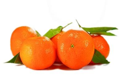 Апельсины с листиками