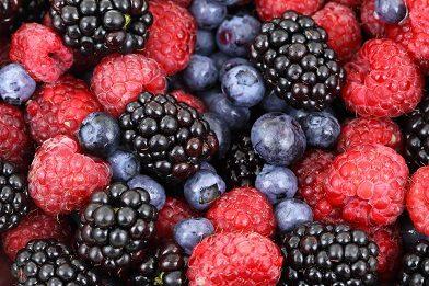 Свежая ягода